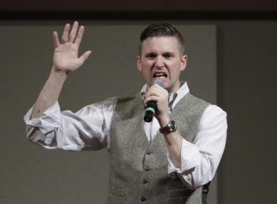 Richard Spencer at Texas A&M