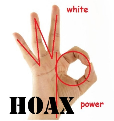 OK Hand Sign White Power Hoax