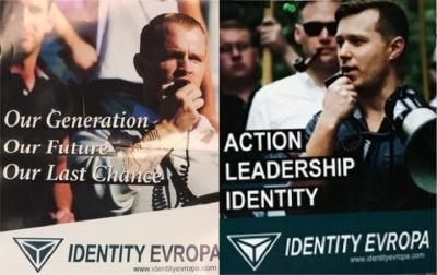 Identity Evropa Fliers