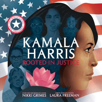 Kamala Harris: Rooted in Justice Book cover