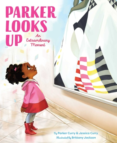 Parker Looks Up: An Extraordinary Moment book cover