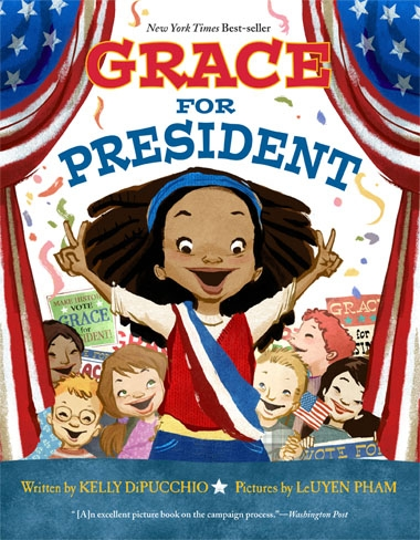 Grace for President Kelly DiPucchio Book Cover