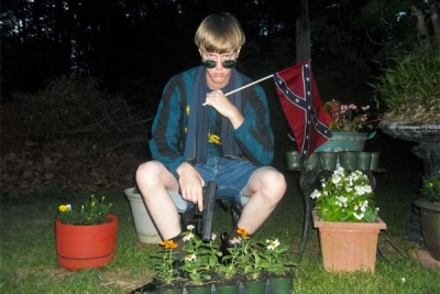 Dylann Storm Roof Gun Confederate Flag