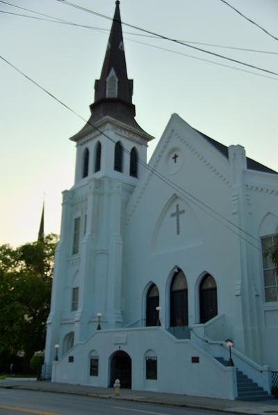 Emanuel African Methodist Episcopal (AME) Church. Photo Credit: Cal Sr via Flikr