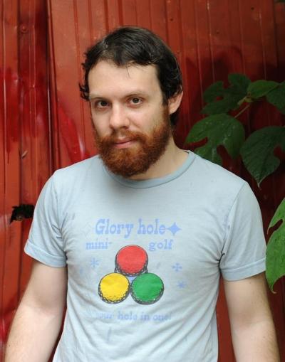 Andrew Auernheimer in t-shirt