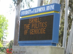 Univ-California Irvine - Anti-Israel