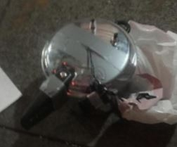 A pressure cooker bomb found in New York City on September 17